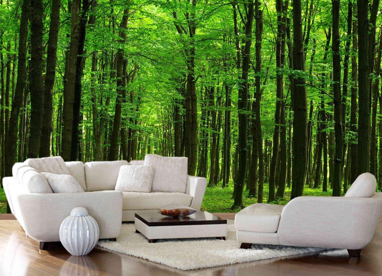Un bosque en casa une fort dans la maison dreamhome 3d wall murals amipublicfo Choice Image
