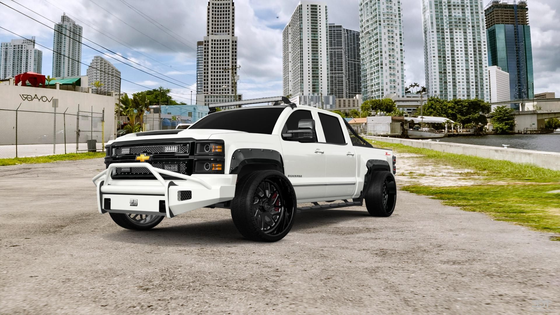 Checkout My Tuning Chevrolet Silverado1500 2014 At 3dtuning