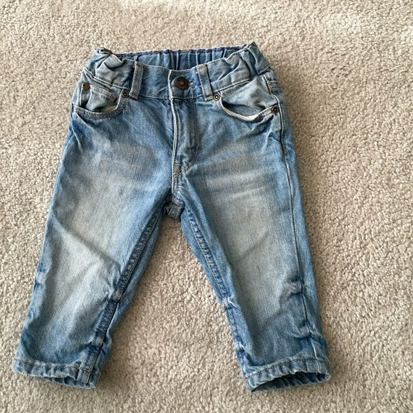 Baby Boy jeans Very fashionable and So cool! Size 4-6 months! Has a small stain in The Back H&M Jeans Boyfriend