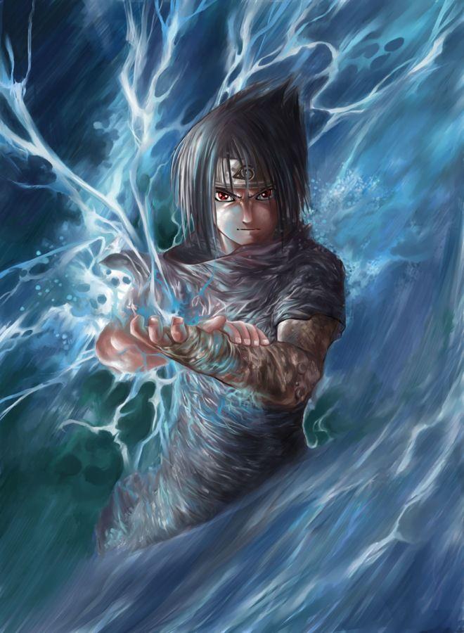 Chidori Best Animes Ever Uchiha Sasuke