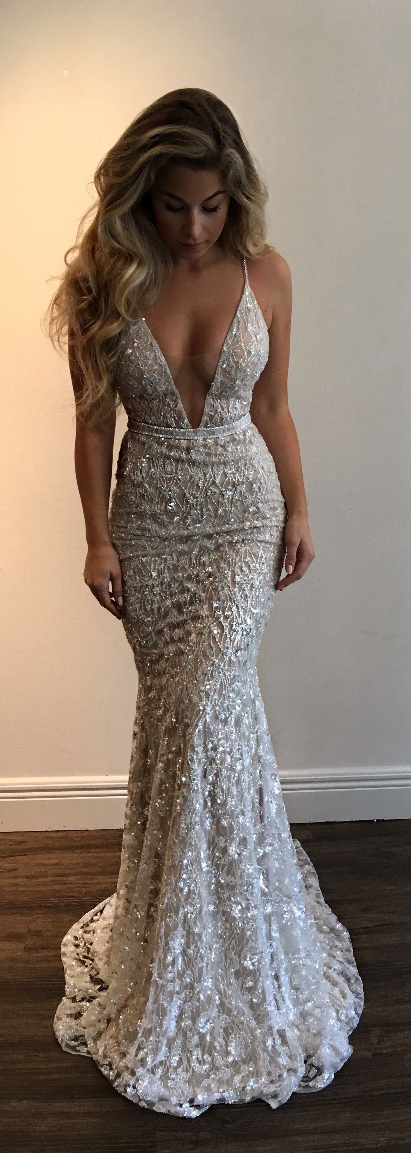 Pin by amber rose on dream wedding pinterest plunging neckline