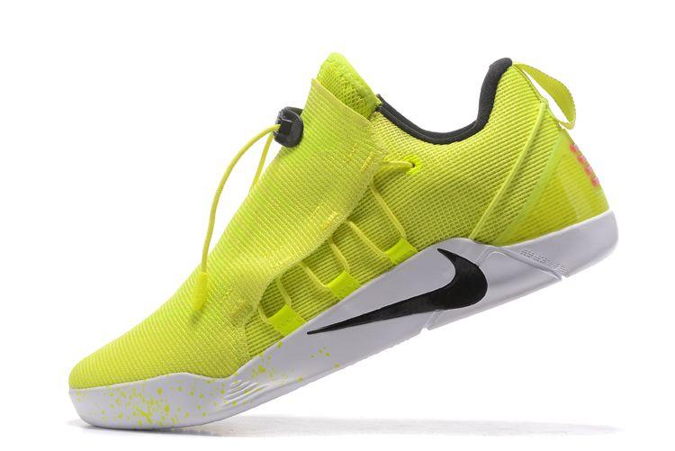 b1fd2e5f026e Nike Kobe AD NXT Volt White-Black 916832-710 Free Shipping