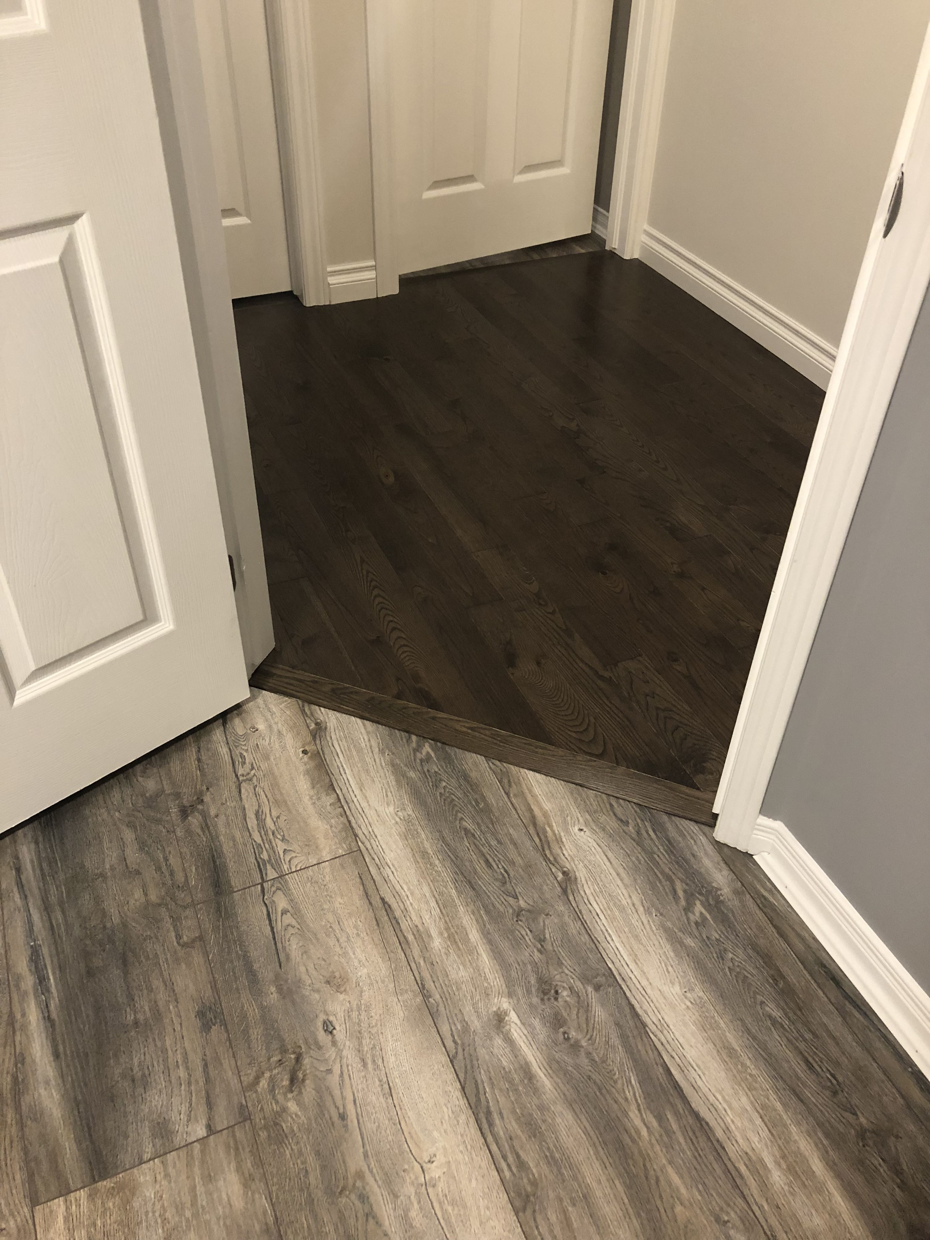Laminate To Hardwood Transition Flawless Flooring Transition