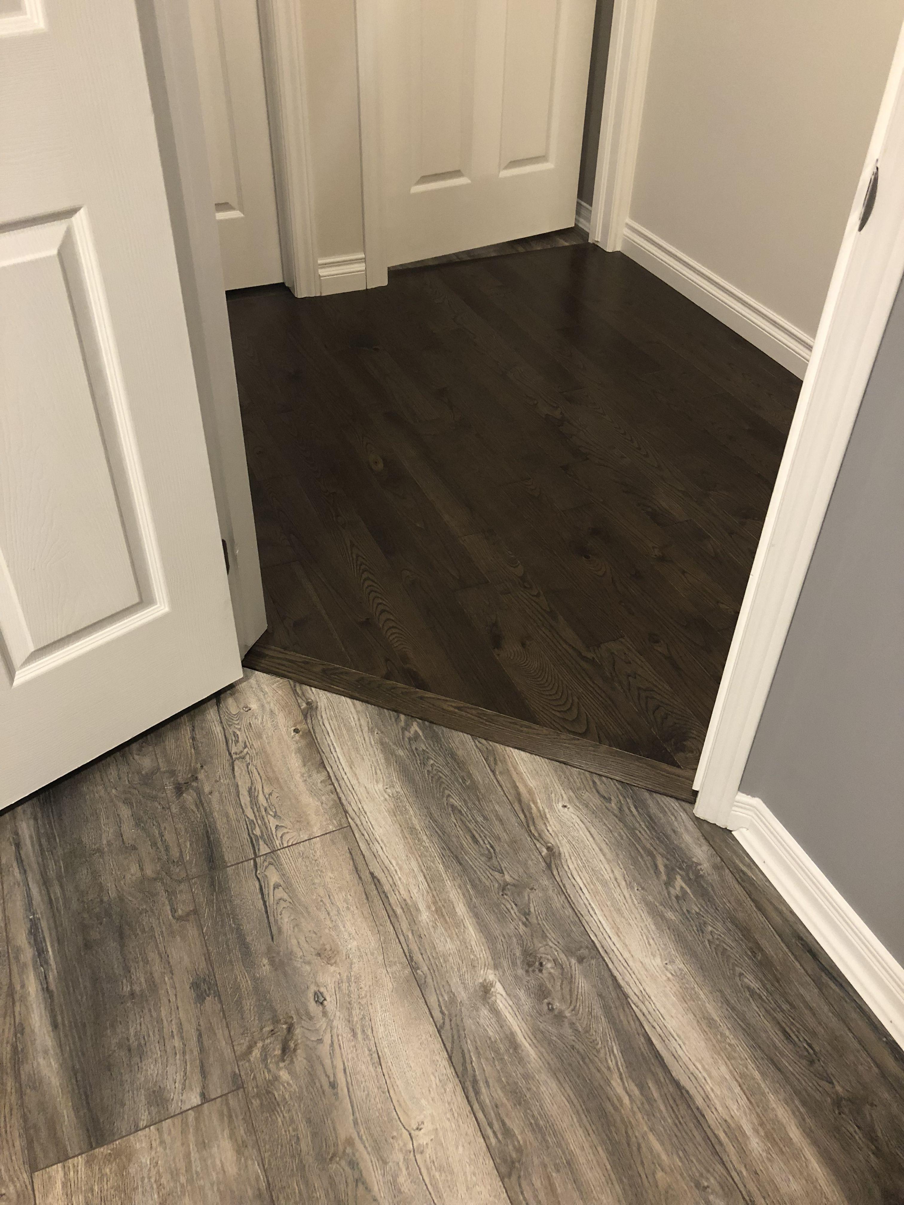 Laminate To Hardwood Transition Flawless Flooring Transition Flooring Living Room Flooring