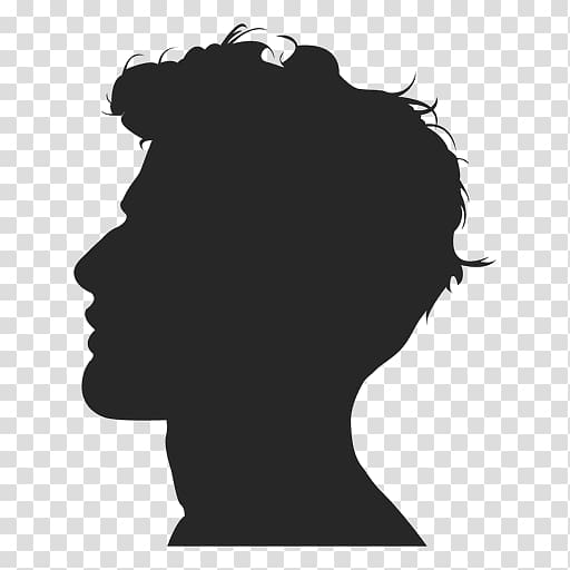 Silhouette Of Person Silhouette User Profile Female Man Silhouette Transparent Background Png Clipart Silhouette Sketch Silhouette Man Person Silhouette