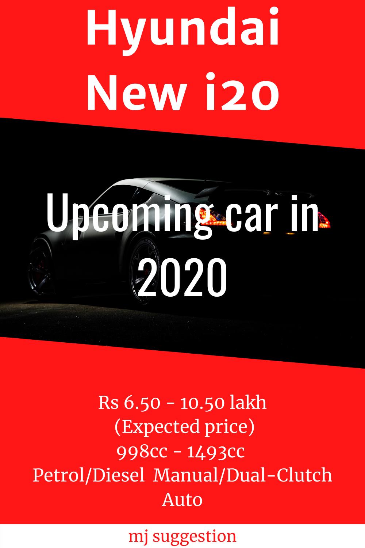 Hyundai New I20 In 2020 New Hyundai Upcoming Cars Best Electric Bikes