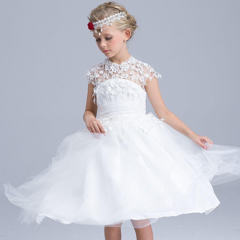 High quality summer maxi dress for children evening party princess
