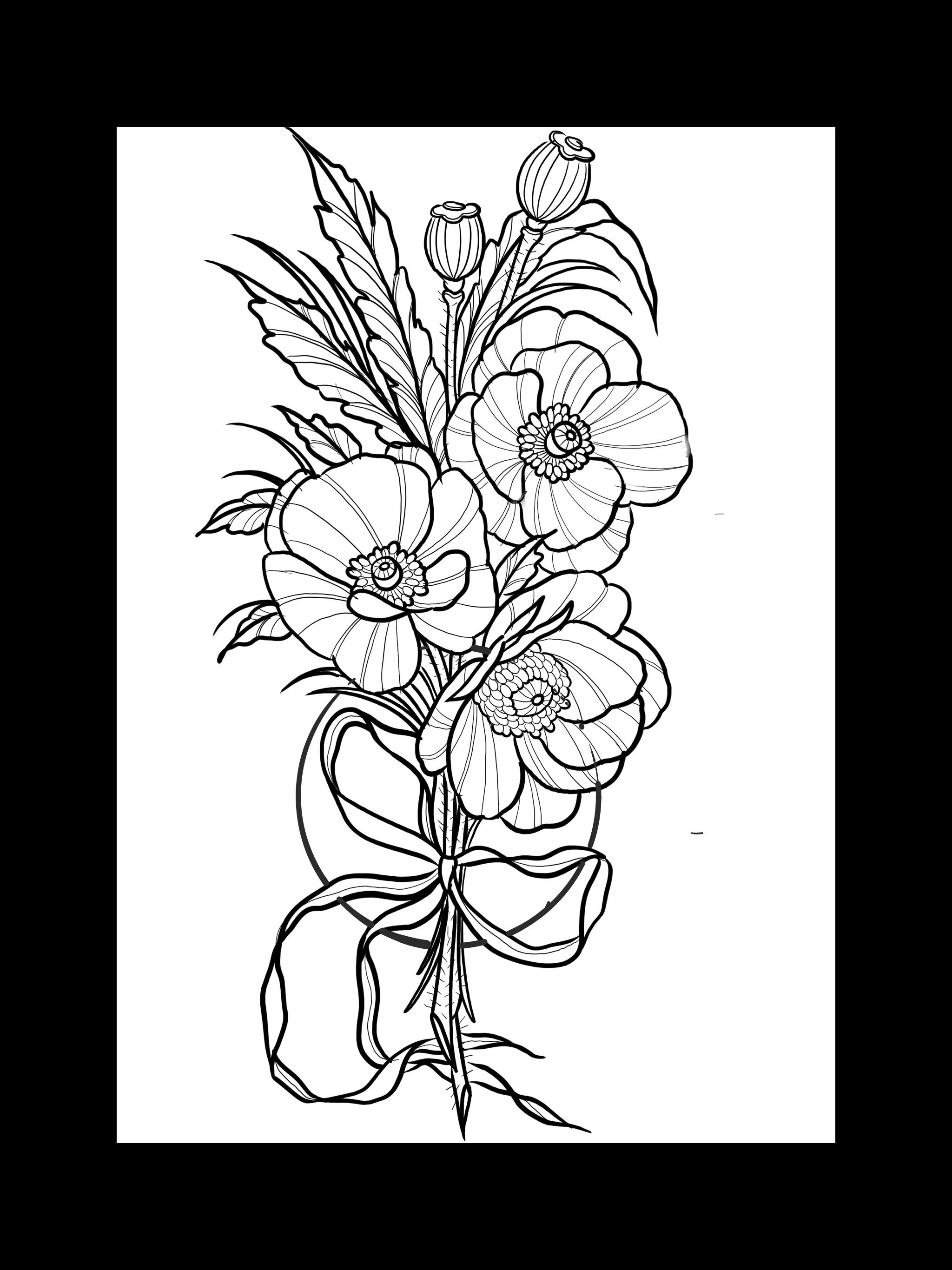 Tattooidee Tattoosketch Tattoodrawing Universe Universetatto Tattooart Poppyflower Flowertattoo Flower Sketches Flower Drawing Tumblr Flower Drawing