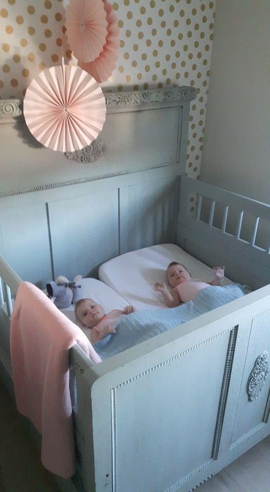 Uitgelezene Tweeling ledikant | Baby - Ledikant, Tweeling kinderwagens en Tweeling PI-25