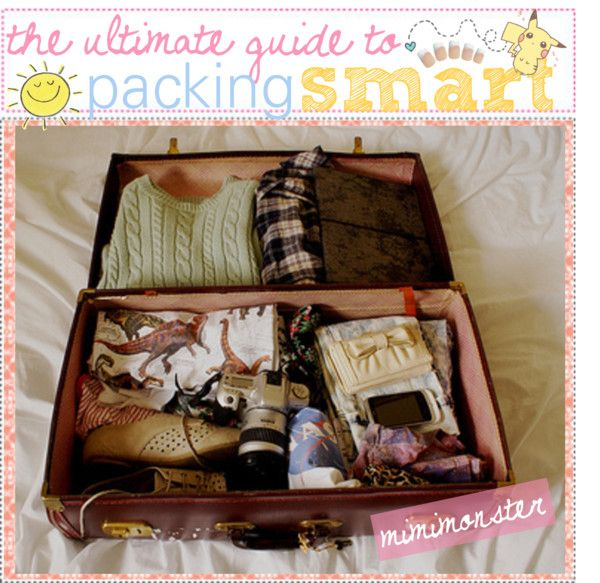 """the ultimate guide to packing smart and more efficiently!(:"" by polyvoretipteam ❤ liked on Polyvore"