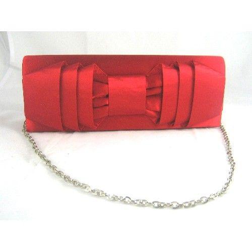 af6a4e85b74 bolso fiesta rojo satén