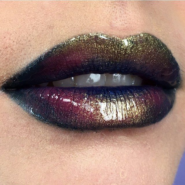 Make Your Lips Pop With This Oil Slick Makeup Hack Makeup Tips