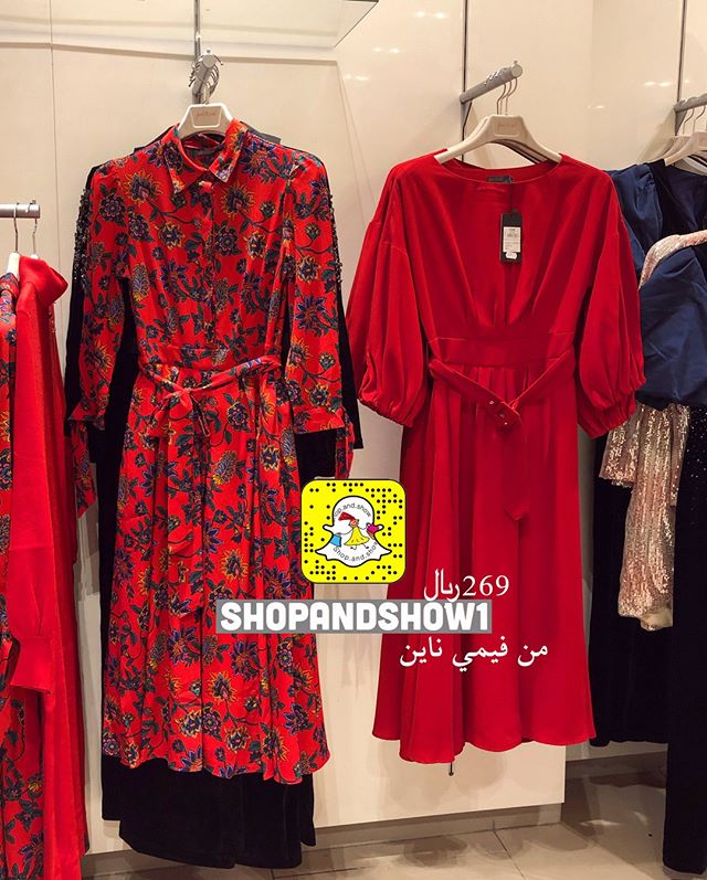 شوب اند شوو On Instagram من فيمي ناين اي احلى يمين ولا يسار Usa Renad Store تميزي وخلي شنطتك Fashion Dresses With Sleeves Long Sleeve Dress