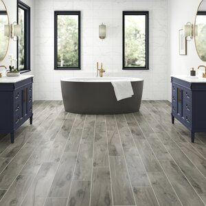Photo of Pearl Leather 8″ x 49″ x 12mm Laminate Flooring