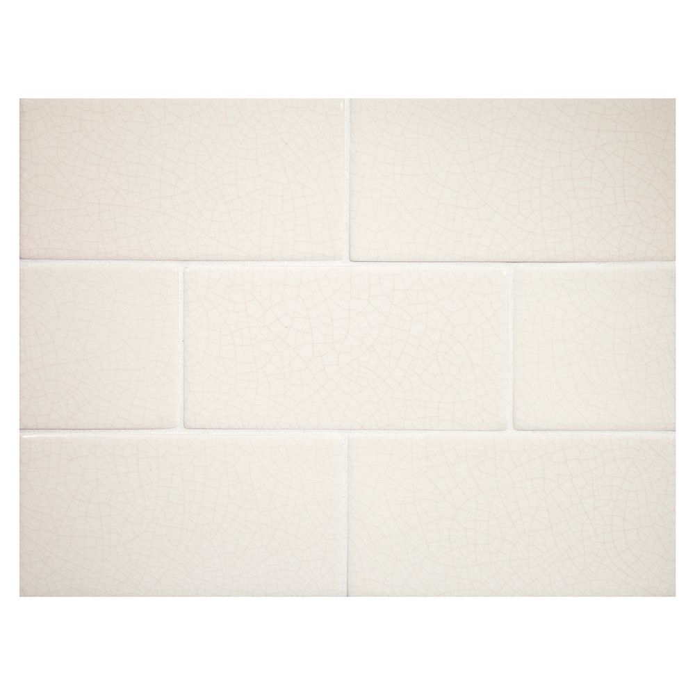 Complete Tile Collection Vermeere Ceramic Tile Ice Cream Crackle With Taupe Veins 3 X 6 Manhattan Ceramic Subway Tile Mi Subway Tile Ceramic Tiles Tiles