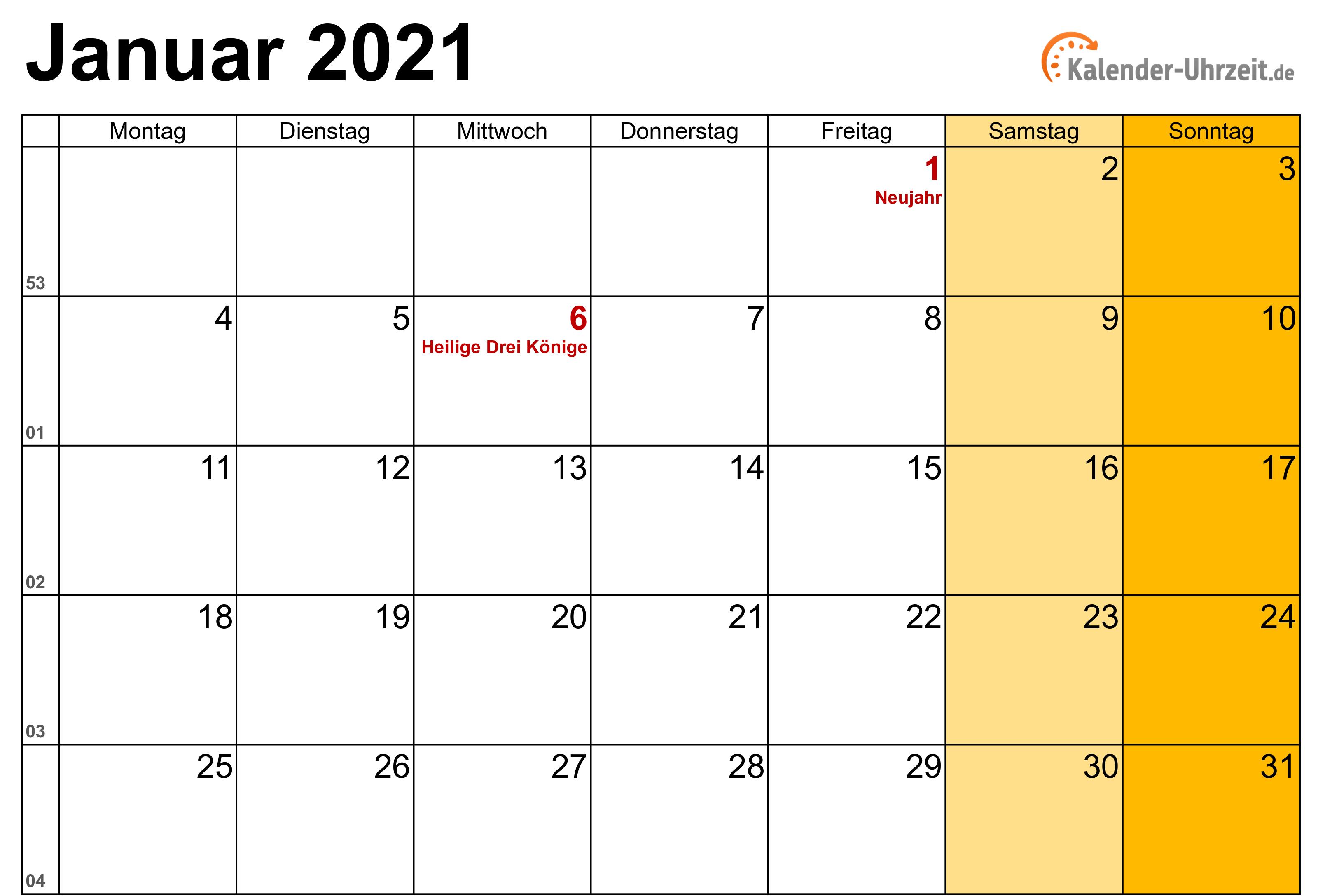 Januar 2021 Kalender Mit Feiertagen In 2021 Calendar Bar Chart Monthly Calendar