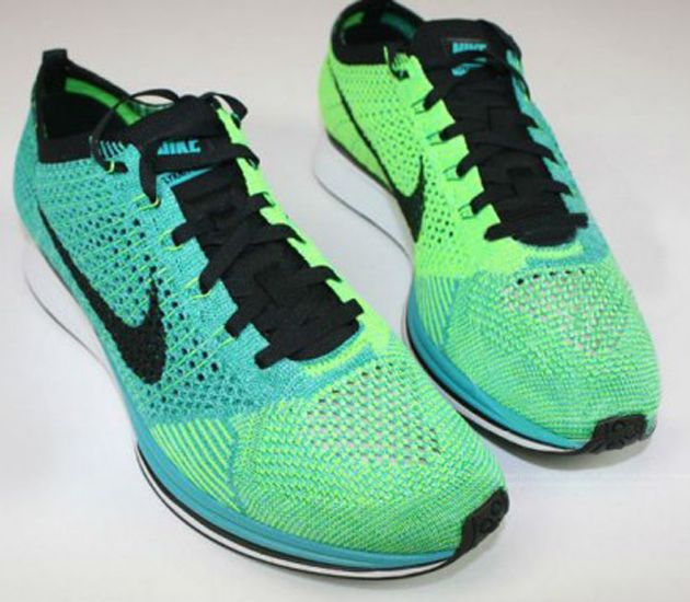 get the green light to run in this new nike flyknit racer
