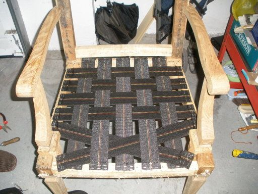 Butaca de madera diy ideas - Como tapizar una butaca ...
