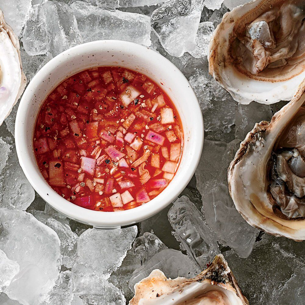 Hot Mignonette Sauce In 2020 Seafood Recipes Mignonette Recipe Oysters