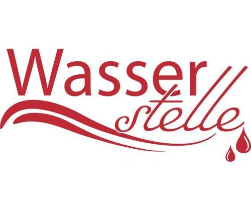 Wasserstelle, Drops Wall Sticker East Urban Home Colour: Red, Size: 100 cm H x 222 cm W