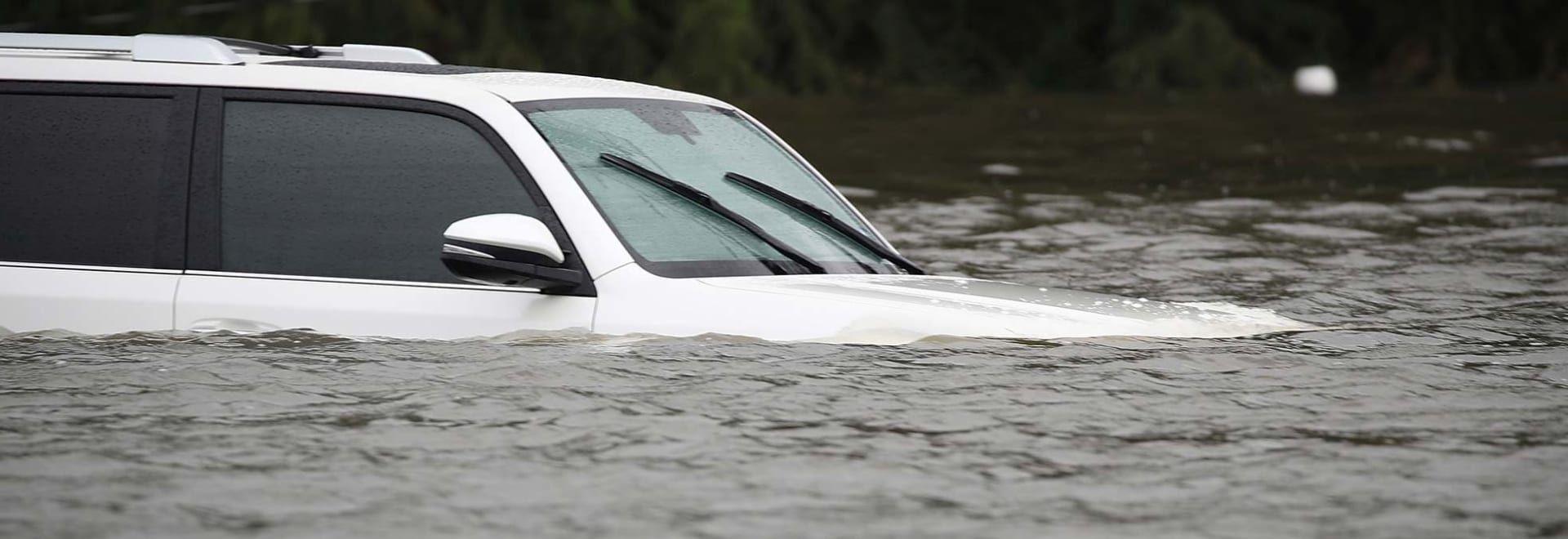 Floodedout car that needs an insurance claim car
