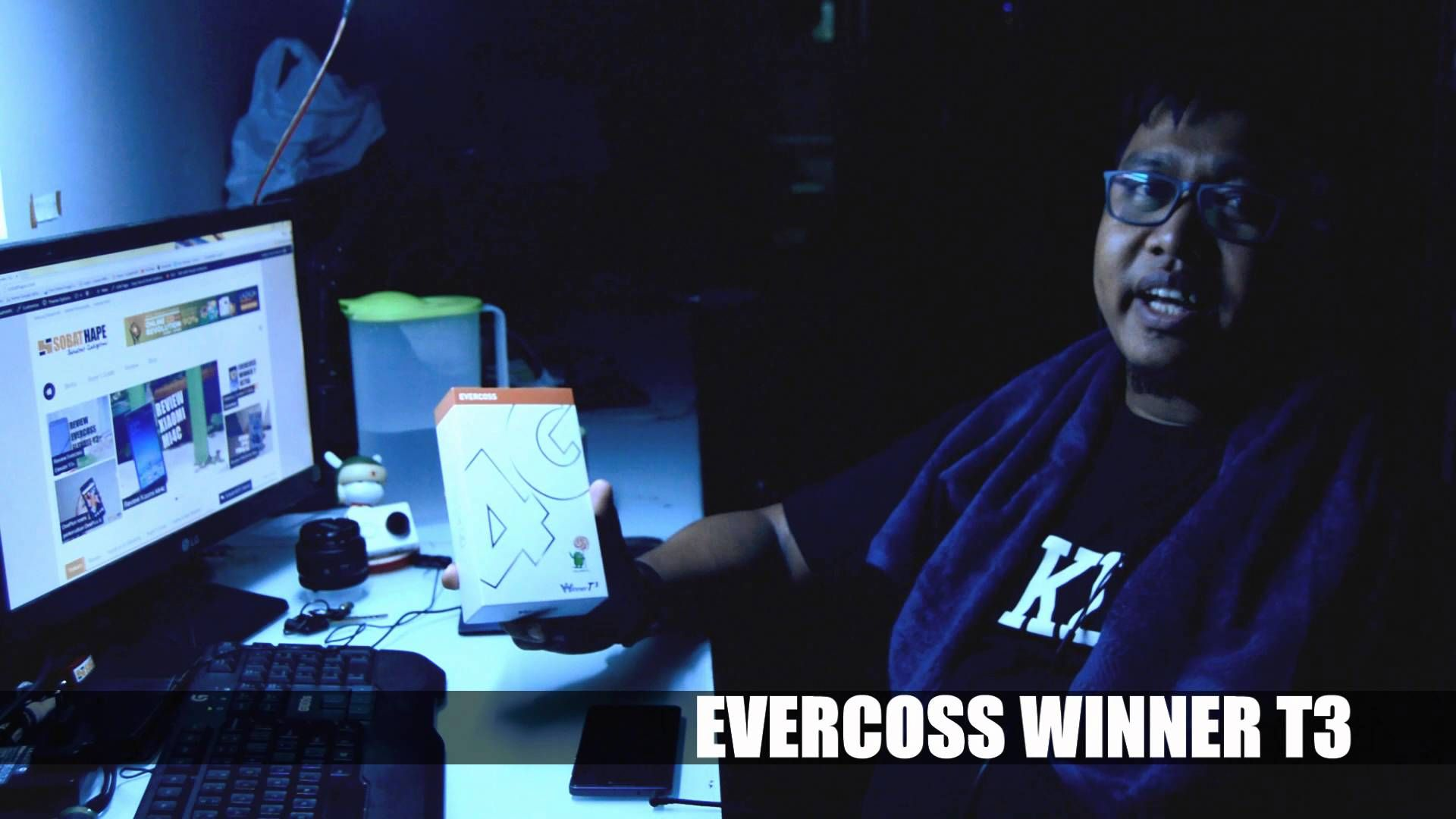 Giveaway Evercoss Winner T3 (Kenalan Sama IkeIkeKimochi)