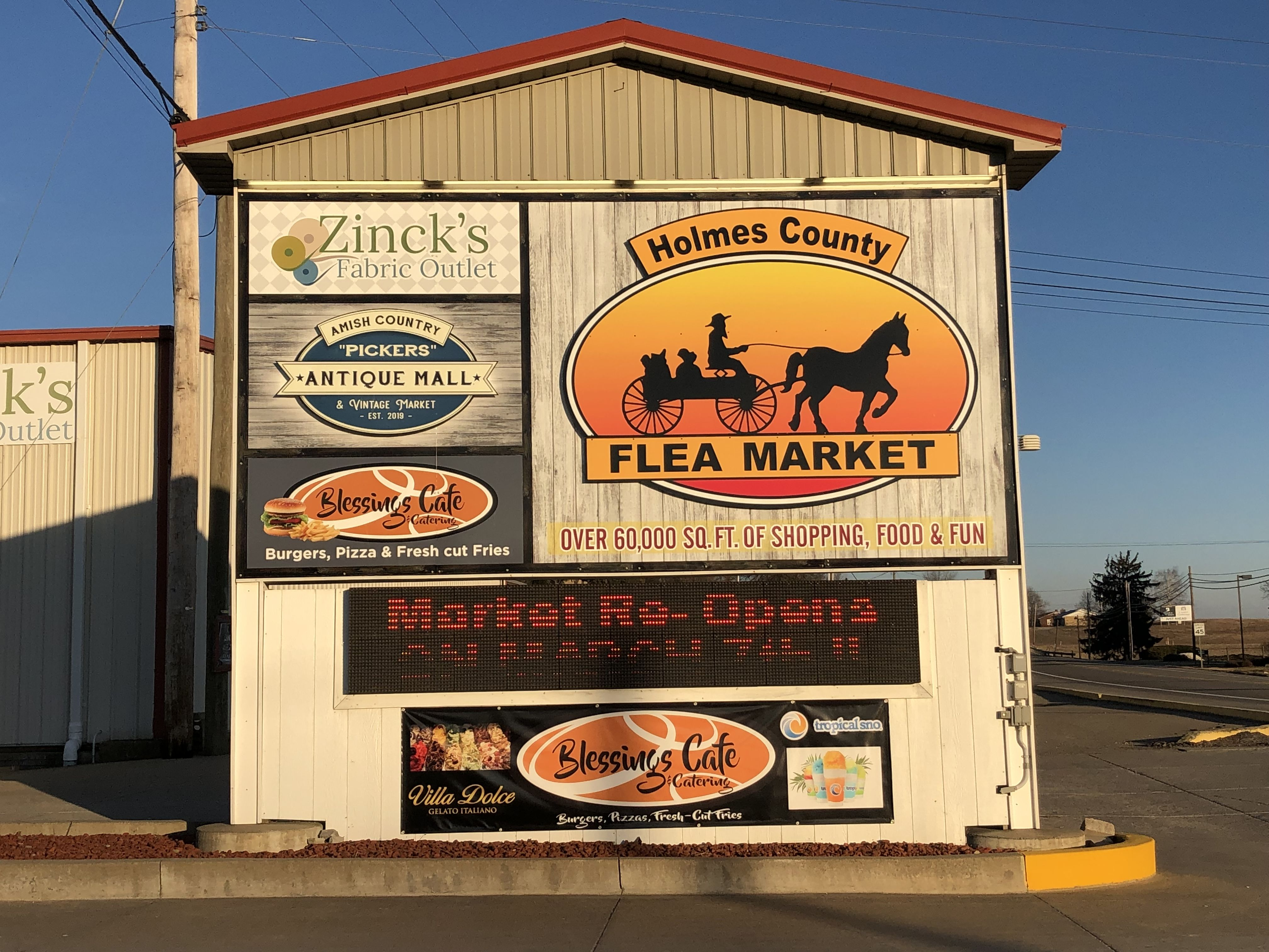 Home Amish country ohio, Amish country, Flea market
