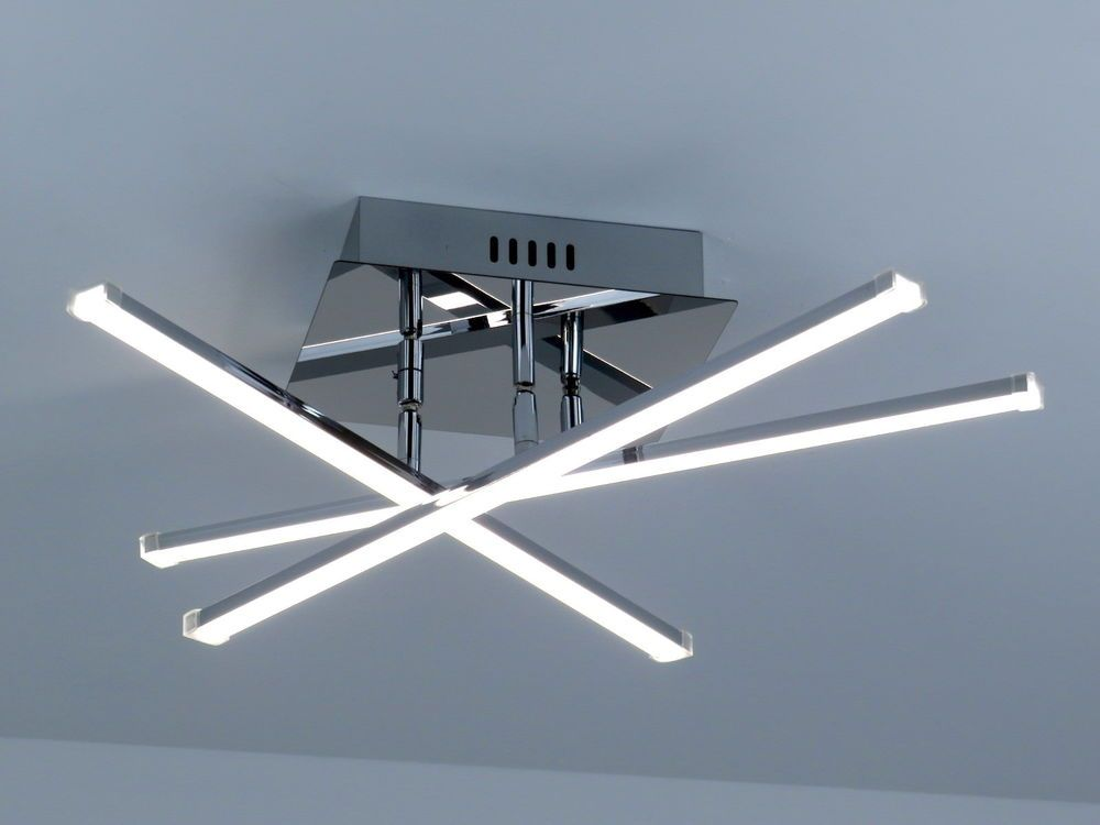 Plafoniere A Led 4000k : Dettagli su lampadario plafoniera design moderno onde luminose