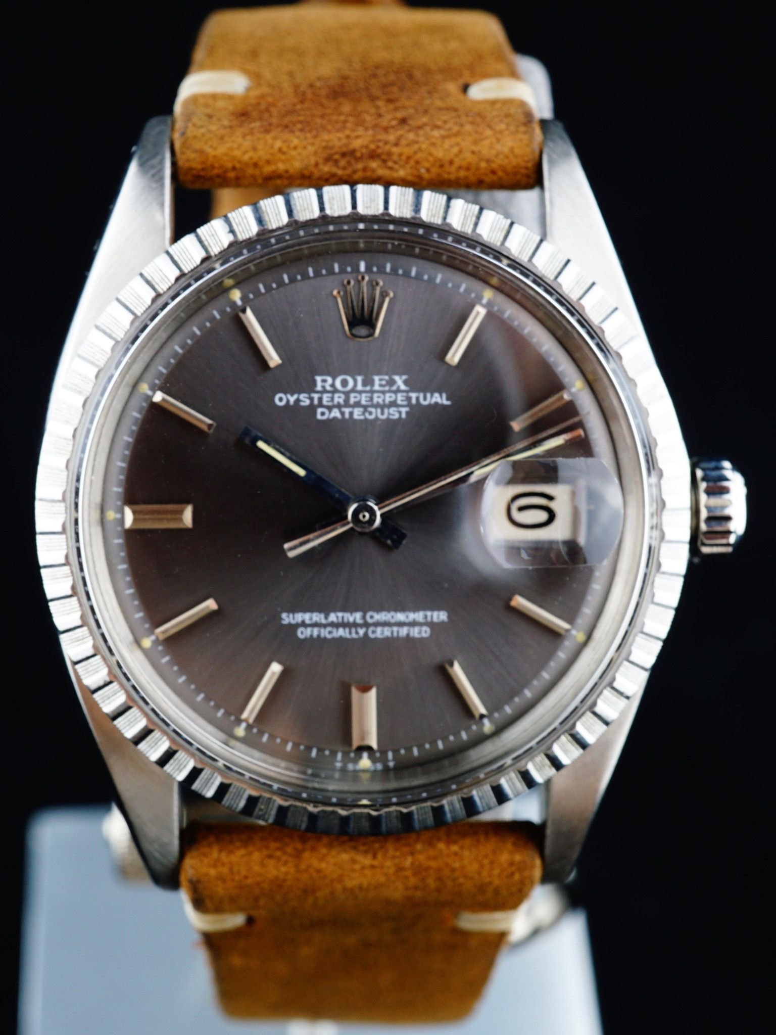 1972 Rolex Datejust Ref 1603 Grey Dial Rolex Datejust Rolex Datejust