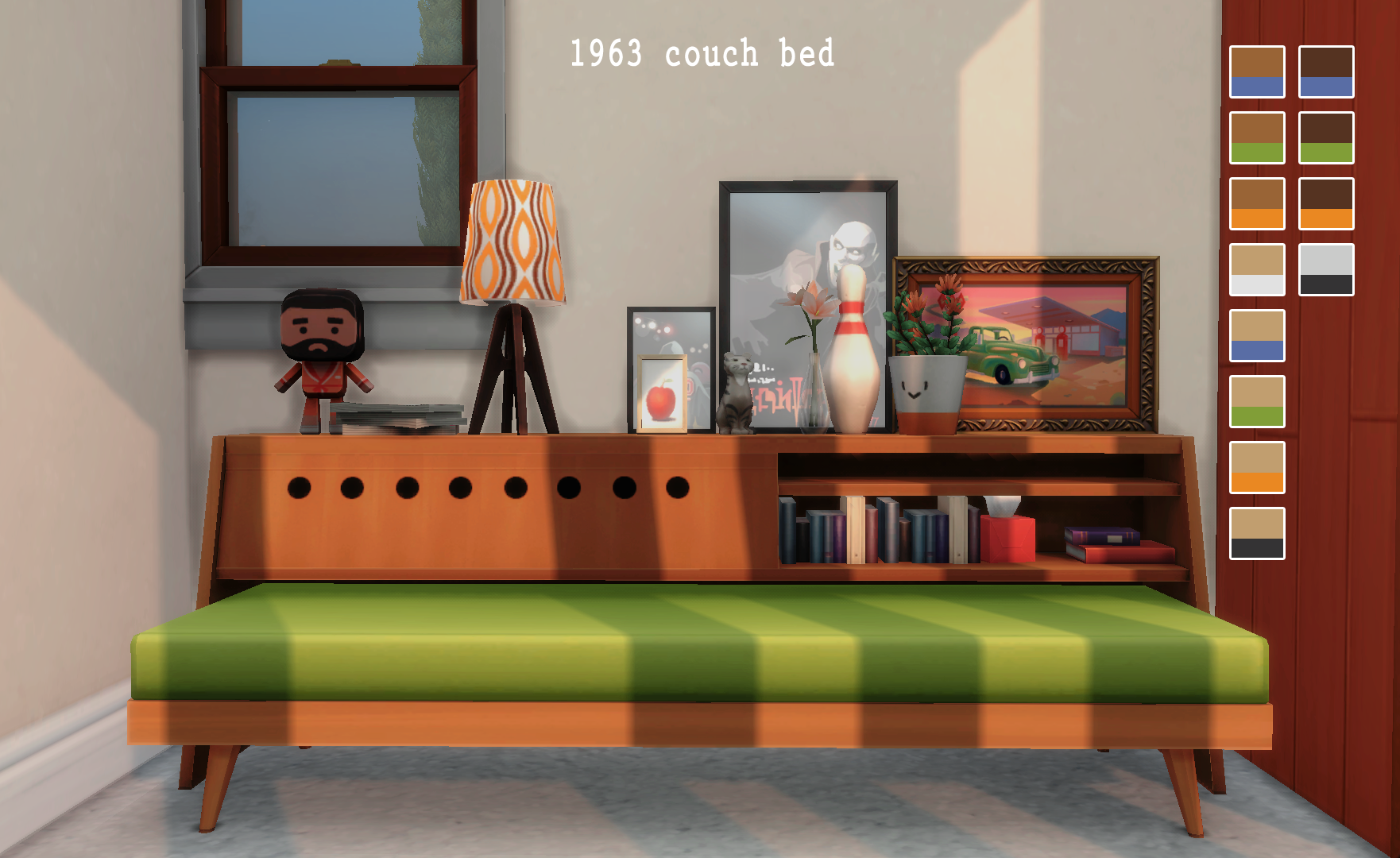 Pin by Stu on Sims 4 CC in 2020 Sims, Couch bed