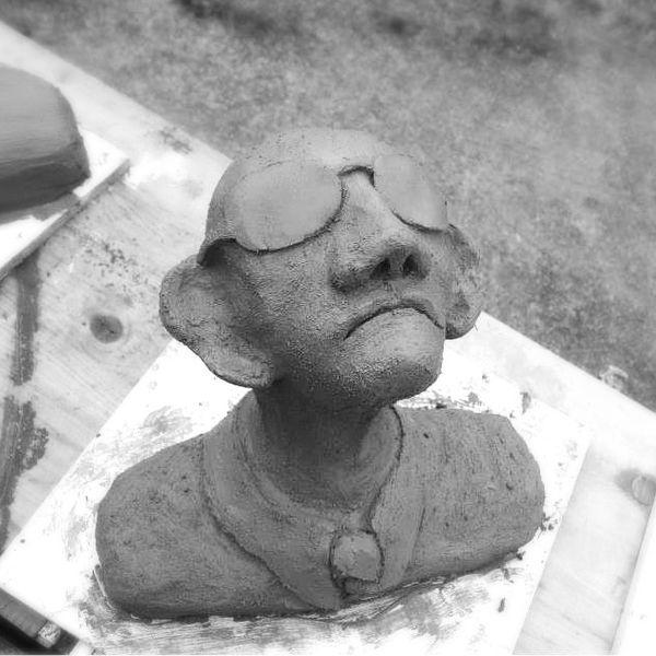 KNETBETON Miled Ben Dhiaf, Calden - Kunstwerke und kreative Arbeit - figuren aus ton selber machen