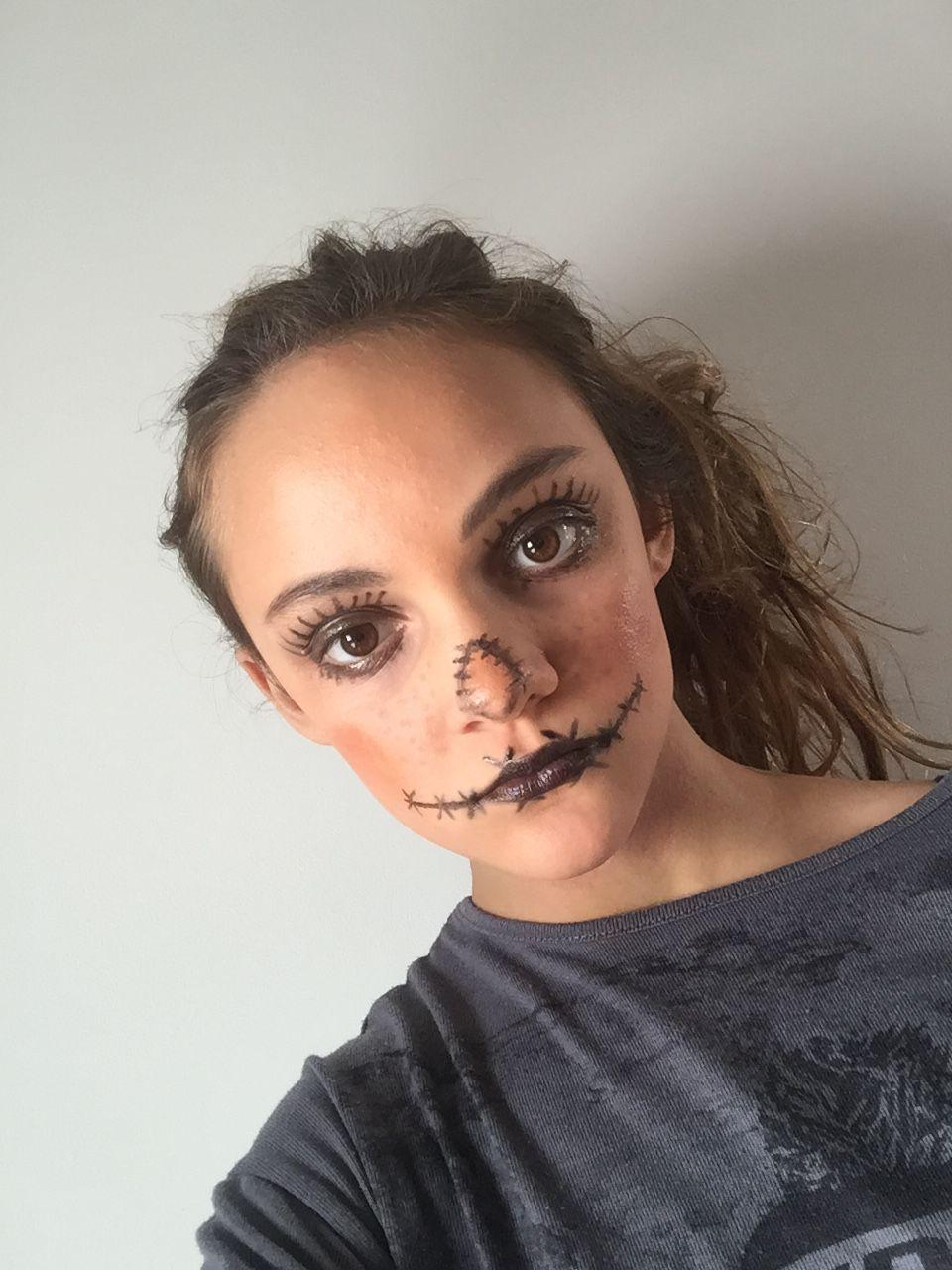 Moi En Citrouille Maquillage Citrouille