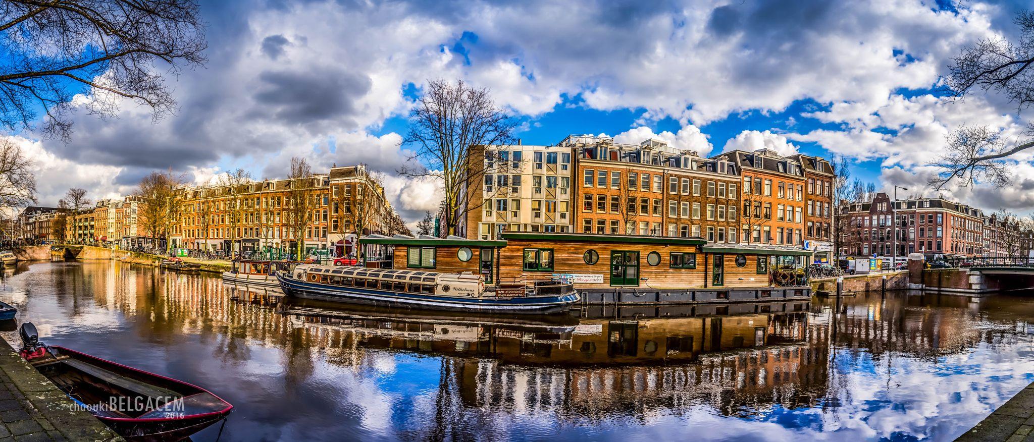Amsterdam - Nice view of Amsterdam,