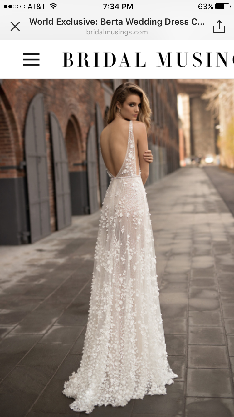 1ffd7c392a3 So in love with Berta Bridal s 2018 collection