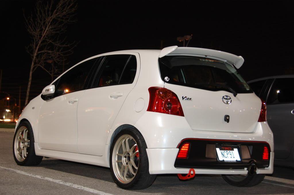 Jdm Style Yaris Vitz Subcompact Cars Yaris Team Toyota