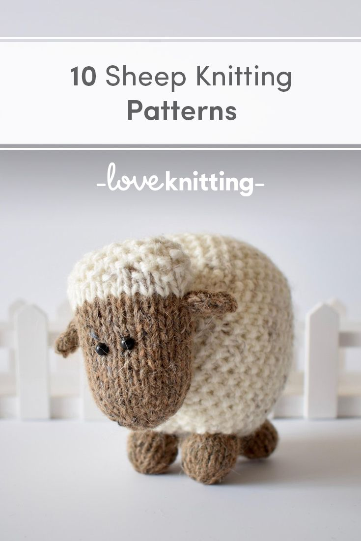 10 Sheep Knitting Patterns #knit