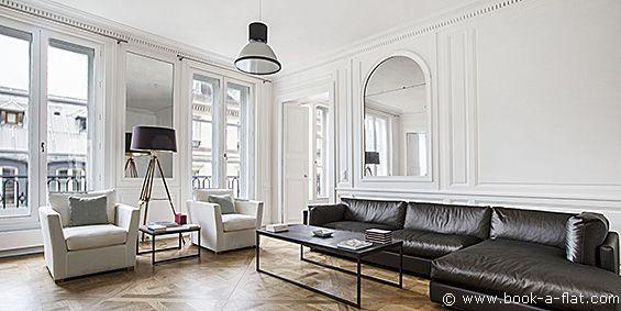 Location Appartement 2 Chambres Paris Rue De Tournon 6ème Arrondissement    Location Métro Odéon