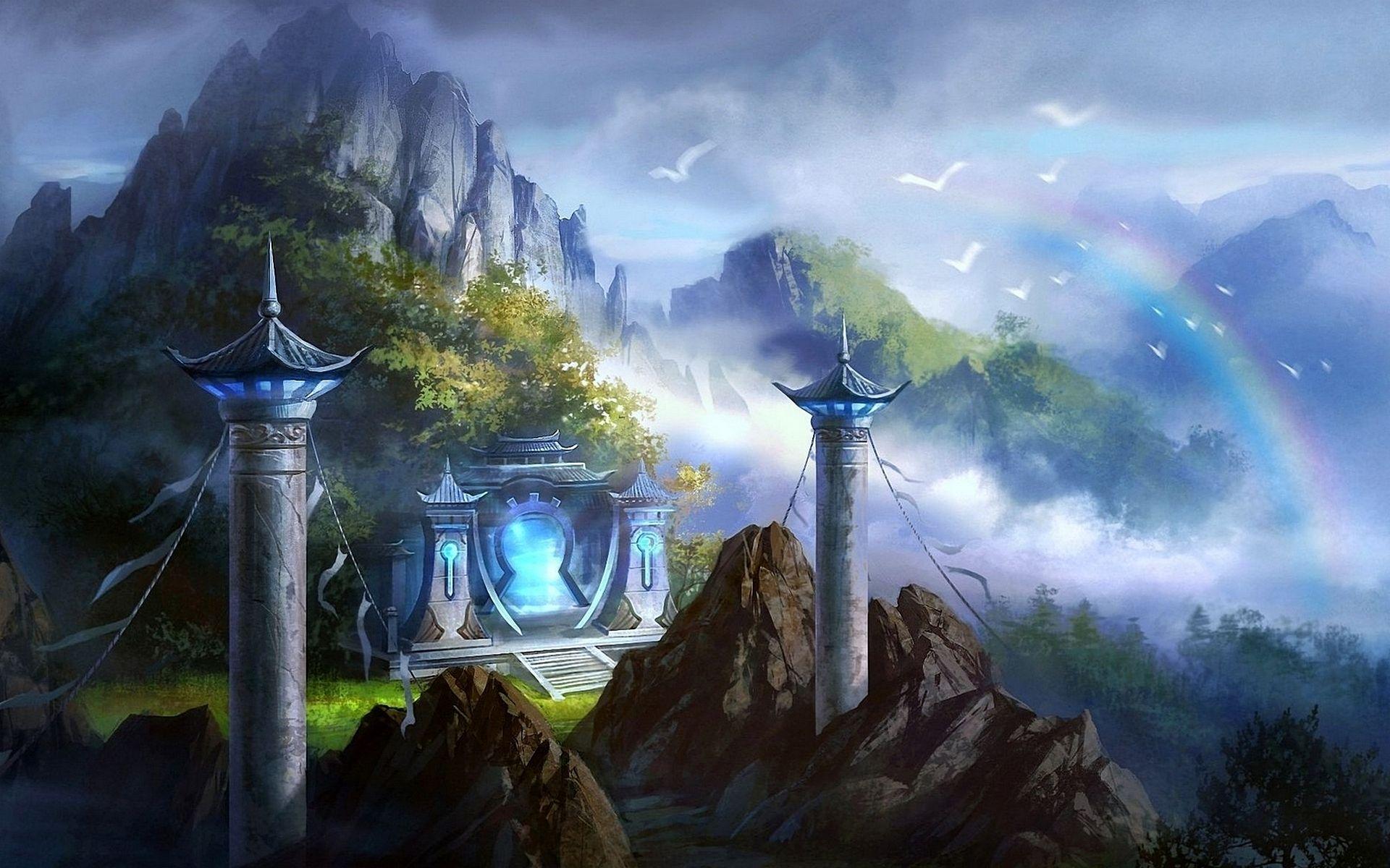 castle #china #mountain | blind realism = fantasy | pinterest