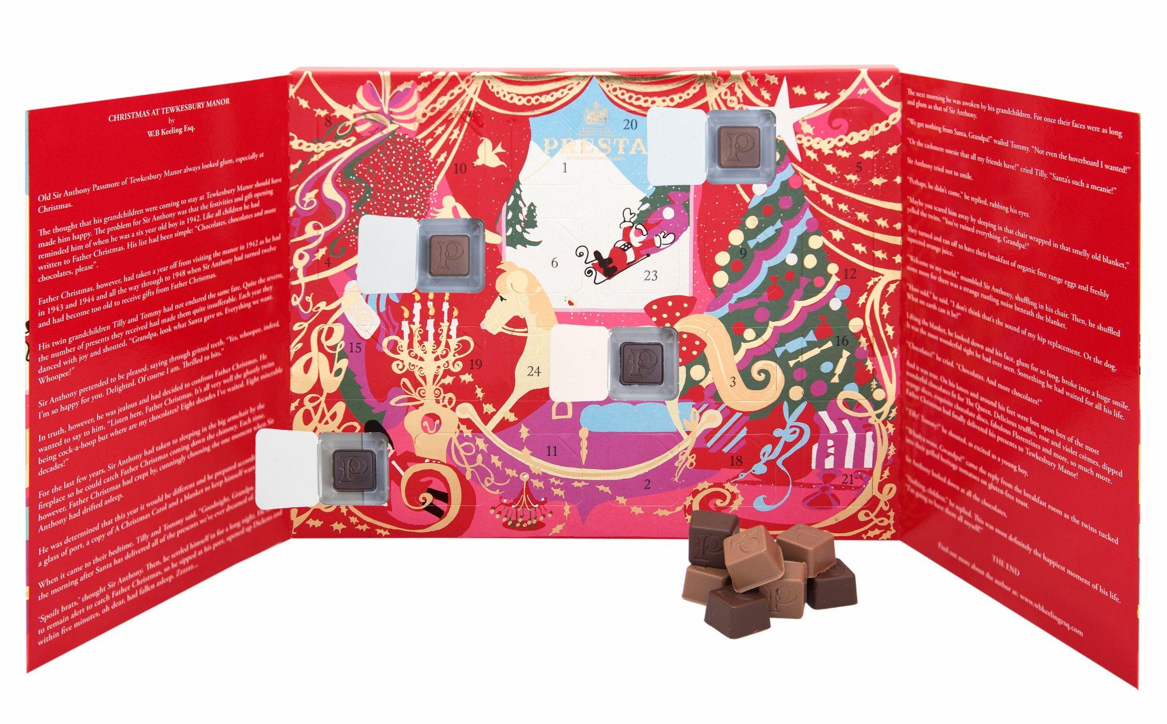 Prestat Luxury Chocolates The Rocking Horse Advent Calendar 240g
