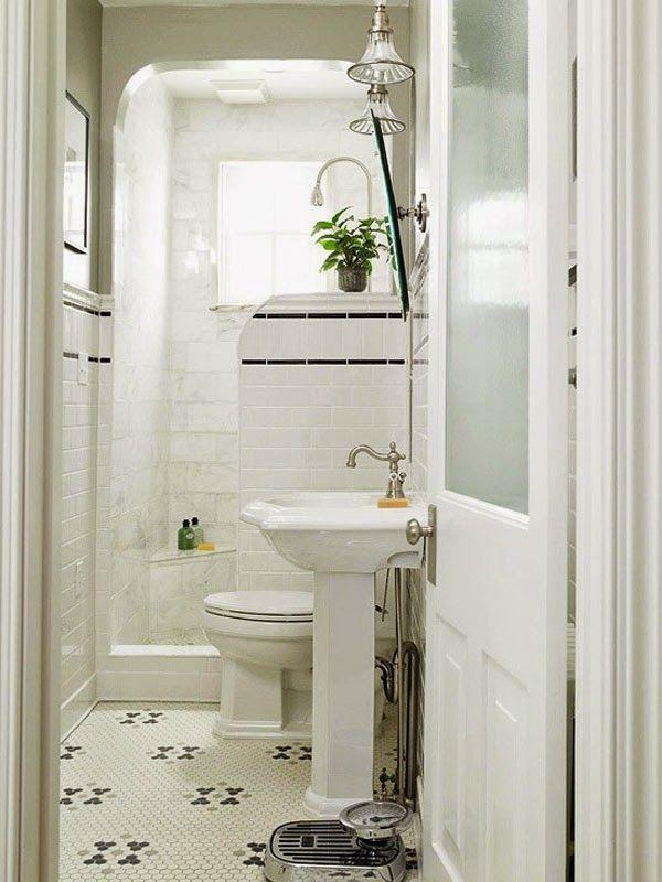 Oh!Naturel: Small&LowCost: Inspiración para baños pequeños | Baños ...