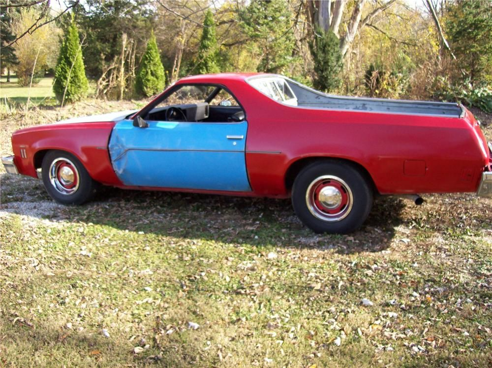 My Name Is Earl 1973 Chevrolet El Camino Sweet Cars Tv Cars