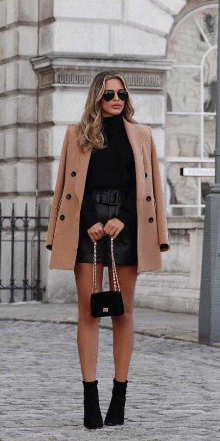 Repito roupa sim: 1 saia de couro 3 looks | Giuli