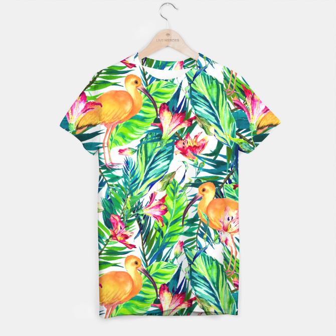 Exotic bird in the tropical jungle Camiseta
