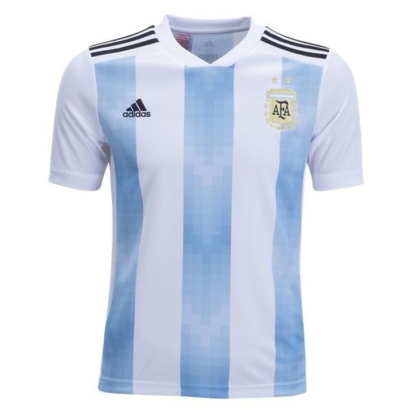 182d986ff adidas Argentina Youth Home Jersey 2018. adidas Argentina Youth Home Jersey  2018 World Cup Russia ...