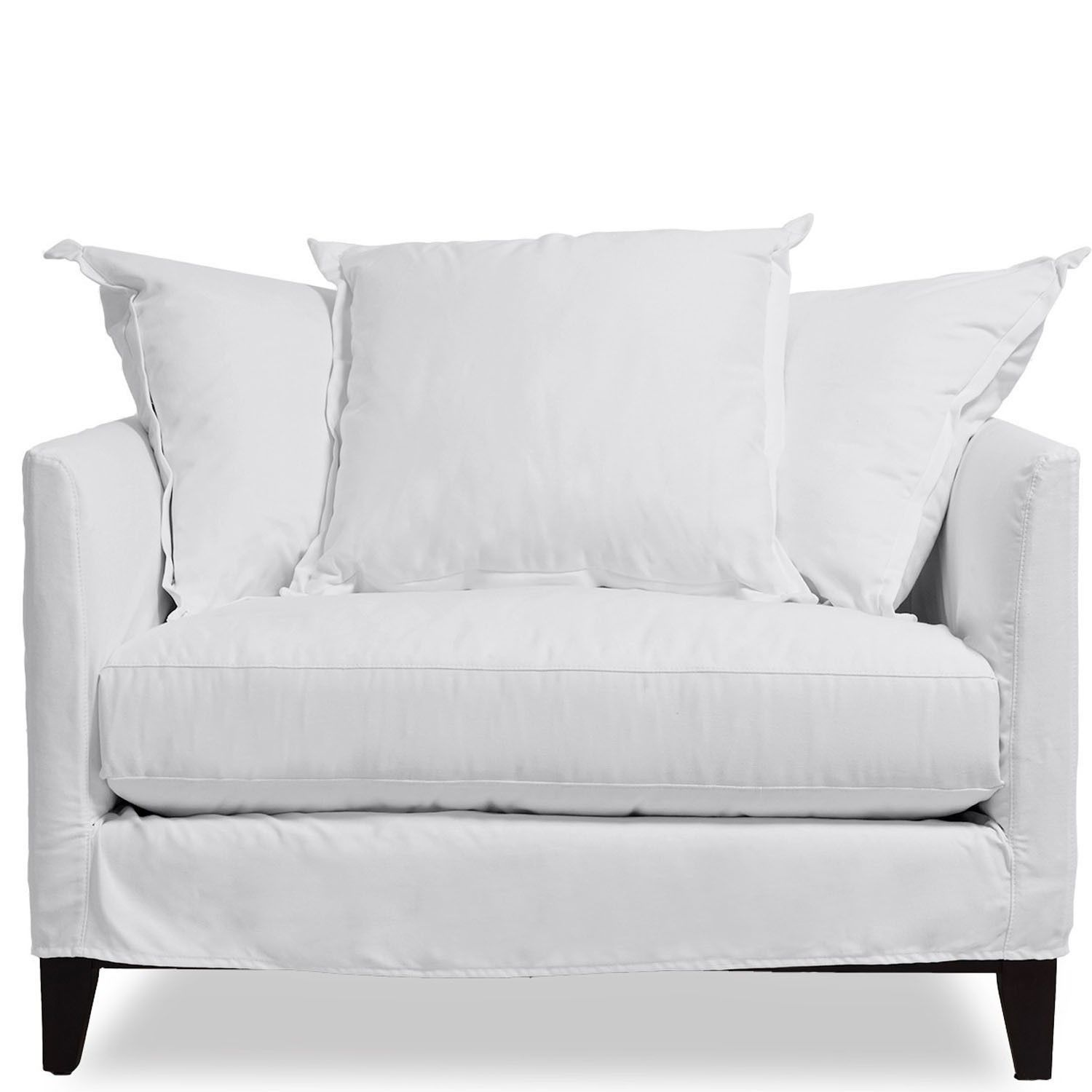 Dolly Slipcover Sofa Oat Crypton Apartment Decor