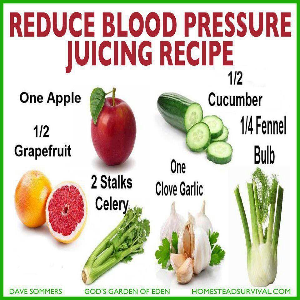 juicing to lower blood pressure