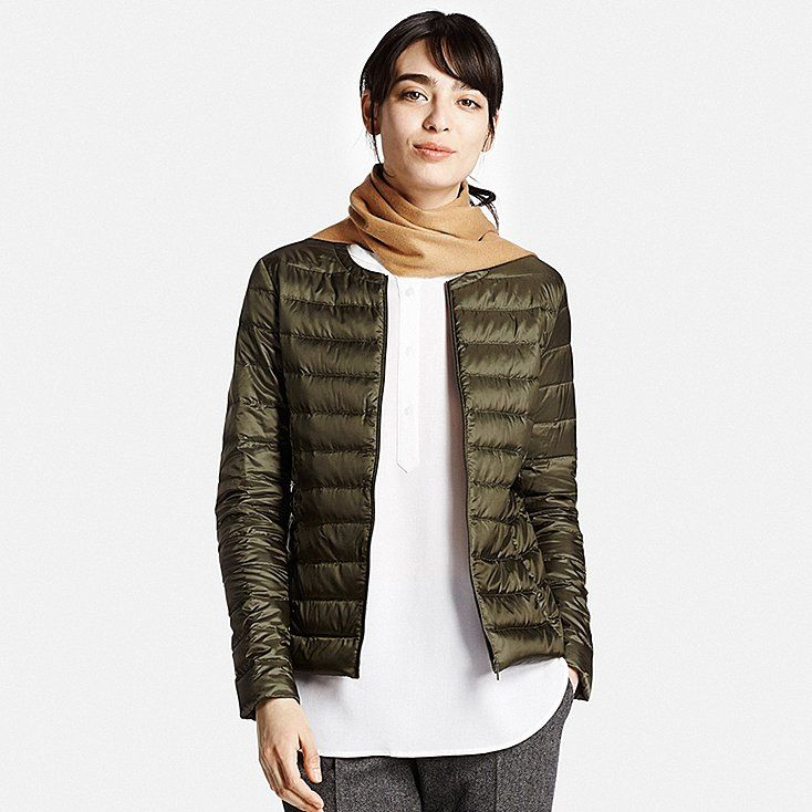 WOMEN ULTRA LIGHT DOWN COMPACT JACKET, OLIVE, large