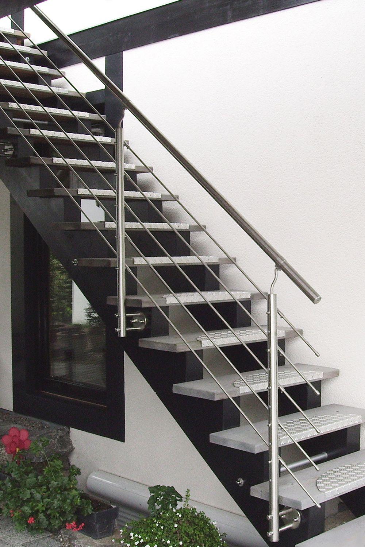 Gelander Rundstabe Aussentreppe Treppe Treppe Haus