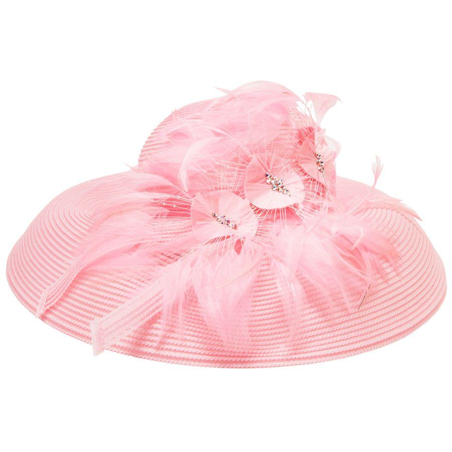 4f367c0c5 Frank Olive Feather Flowers Hat with Rhinestones #VonMaur ...