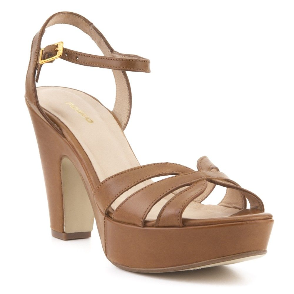 Tacon EnZapatos1 Sandalia Zapatos Piel Fosco KcTF13Jl